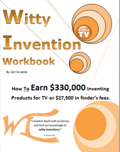 Witty Invention - Workbook Cover